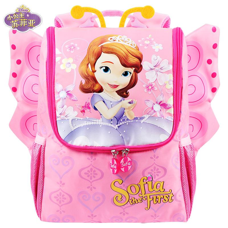 迪士尼幼儿园书包苏菲亚小女孩双肩包宝宝可爱卡通公主儿童背包