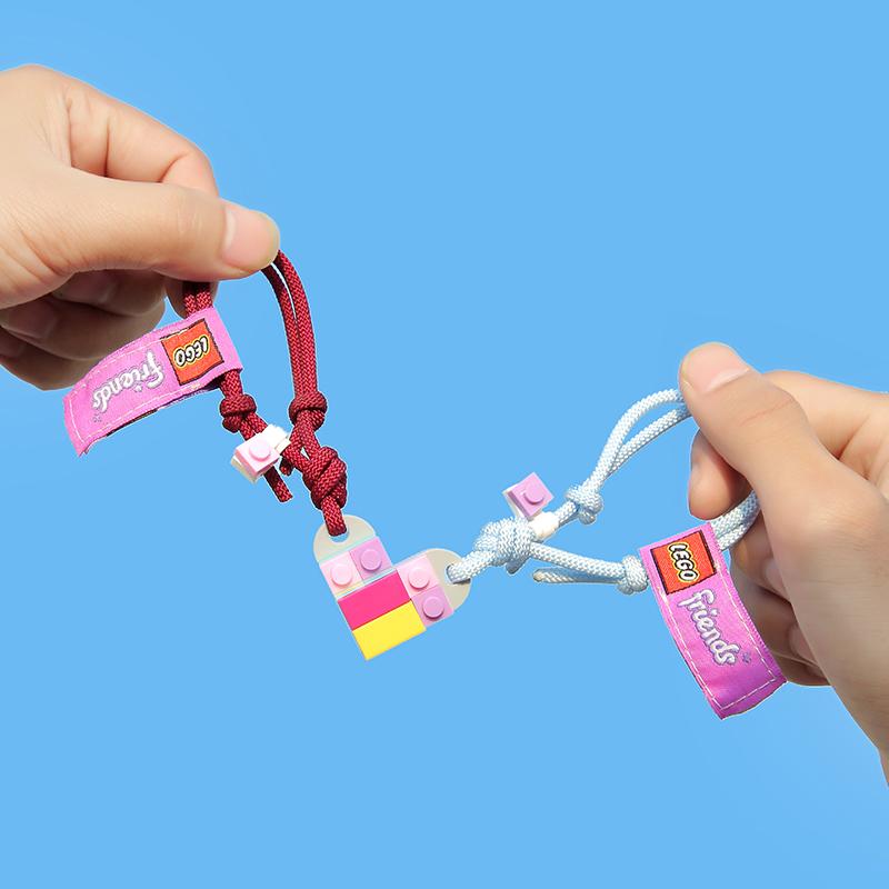 LEGO good friend building block bracelet for lovers