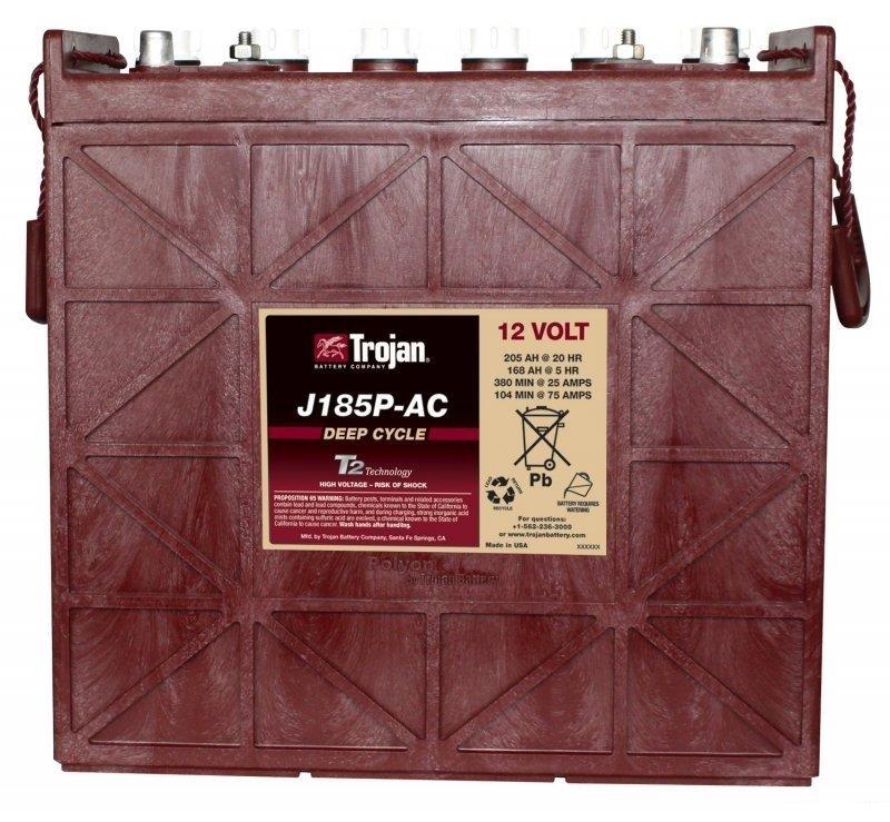 TROJAN邱健J185P-AC蓄电池美国原装进口电瓶12v205AH正品现货直销