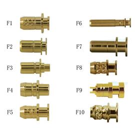 大电流充电针弹簧电极开关接触弹性电极焊头探针负极弹簧探针母头图片
