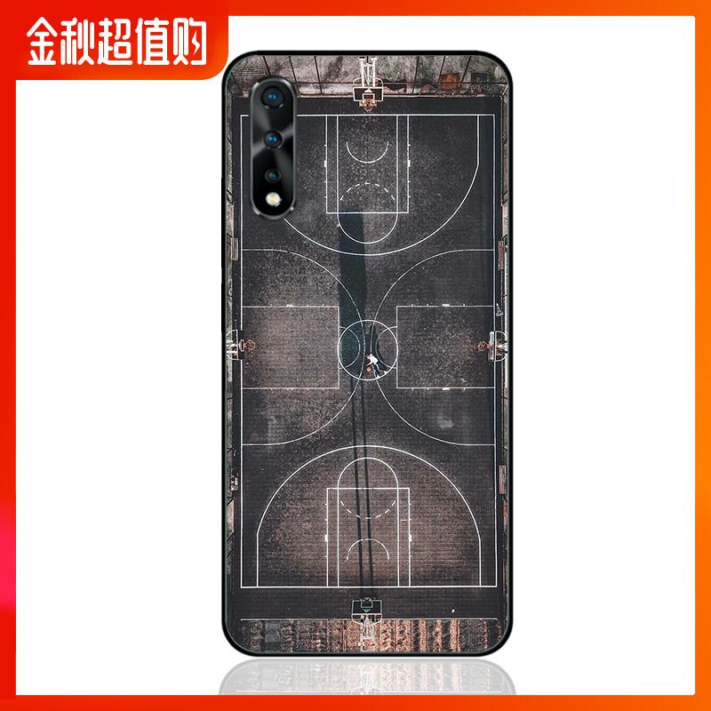 创意复古篮球场iqooneo iqoo手机壳限8000张券