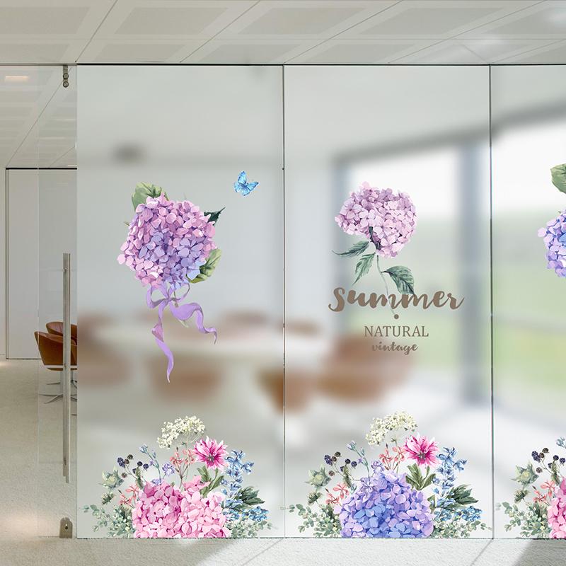不包邮防晒窗户玻璃贴窗户膜卫生间玻璃贴纸防透窗花纸窗贴磨砂静电贴膜
