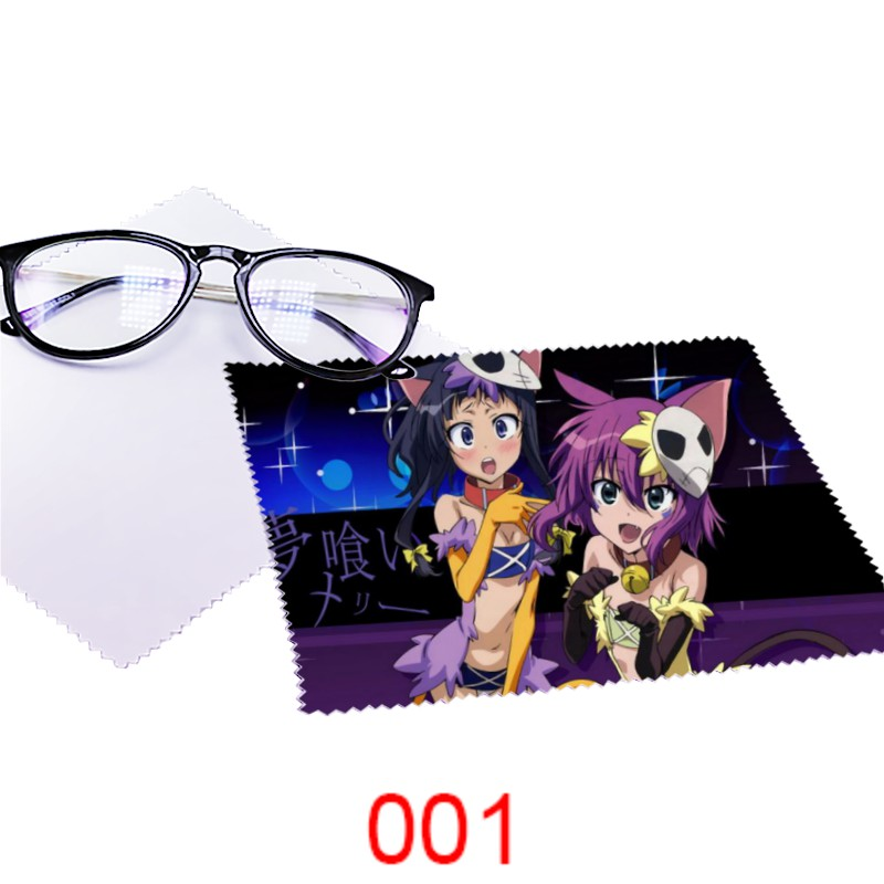 Dream eater Mary glasses cloth 3-piece multi functional microfiber computer mobile phone screen protection 9526