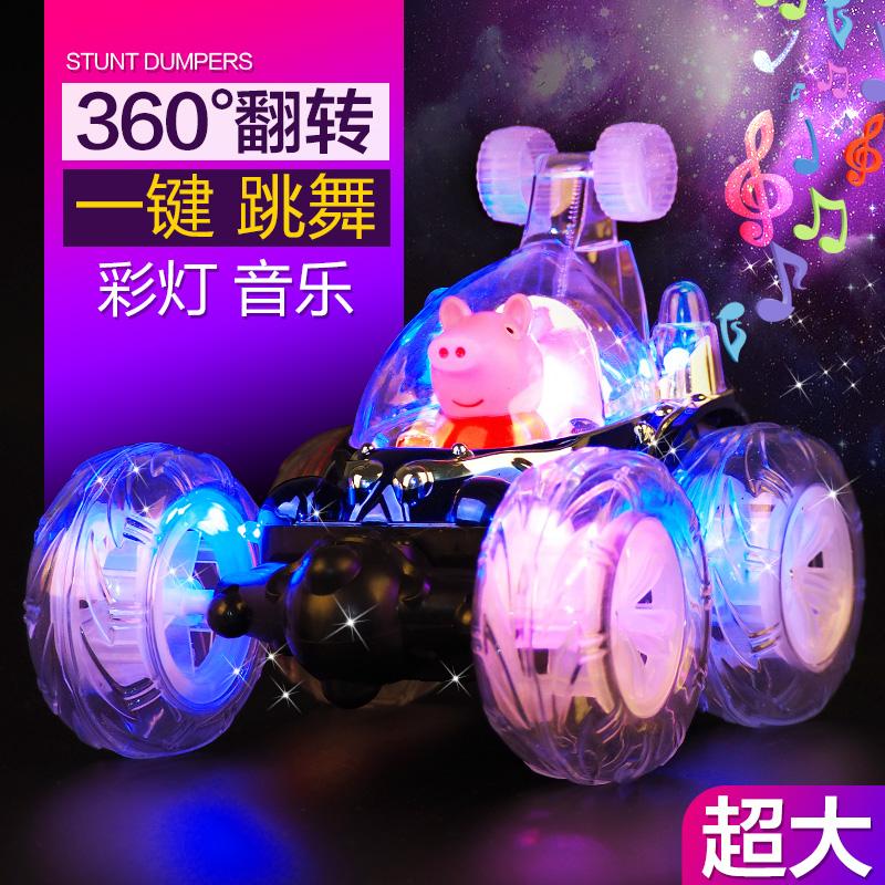 翻滚特技车越野汽车模儿童玩具车