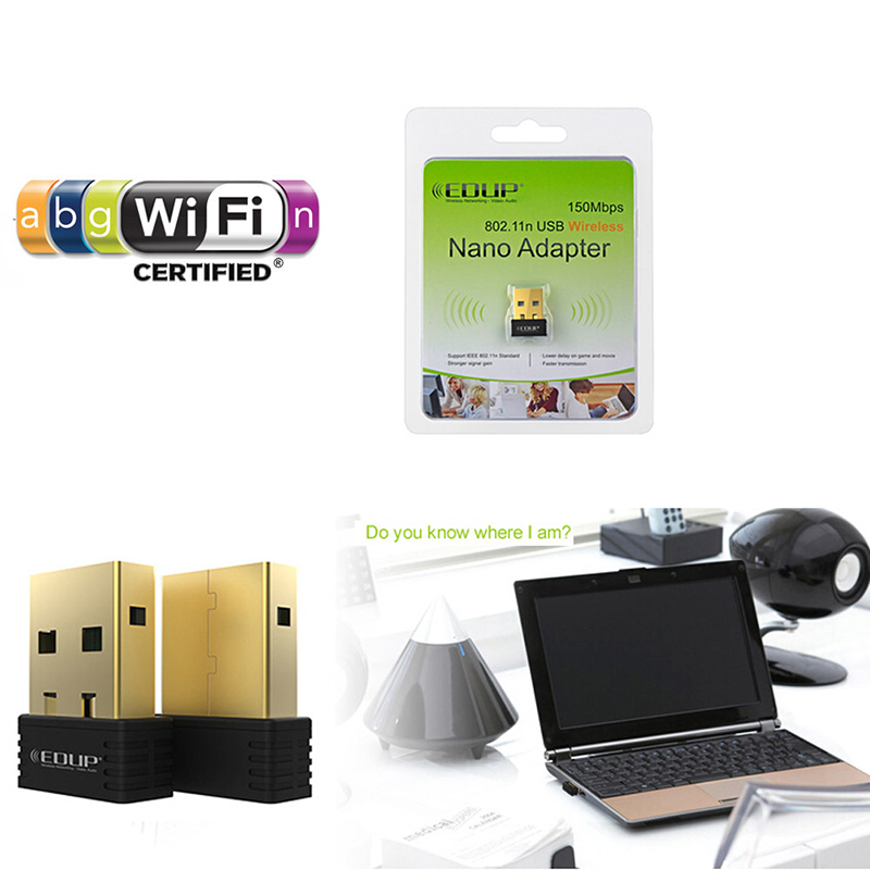 Cool EDUP EP-N1528 150Mbps Wireless WiFi USB Network 802.11n