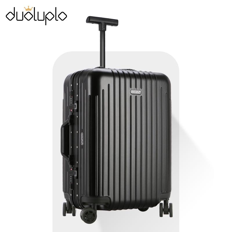 学生拉杆箱子男超轻20寸皮箱旅行箱女小轻便密码登机行李箱万向轮
