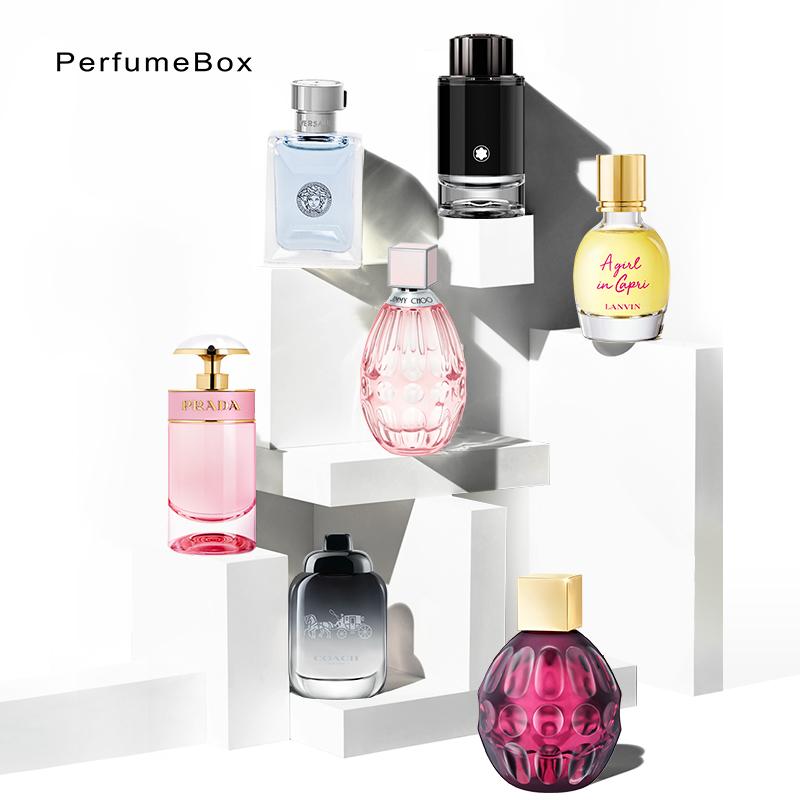 【官方正品】香水盒子小香盒男女香水小样正品大牌 安娜苏香水