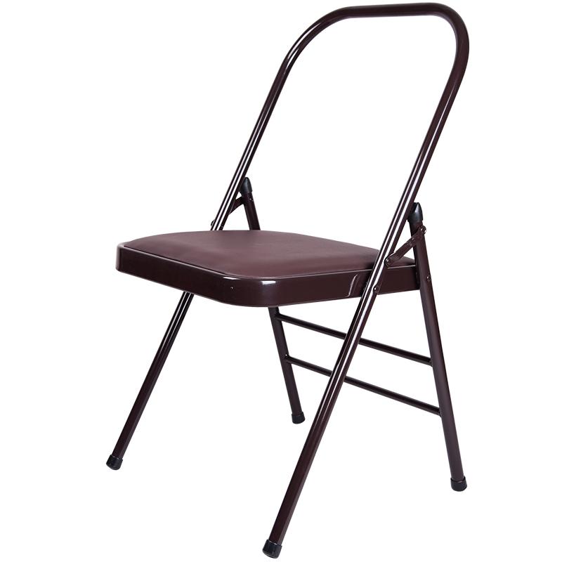 艾扬格瑜伽椅子瑜伽舒展器专业瑜珈辅助椅倒立加粗坚固折叠椅正品