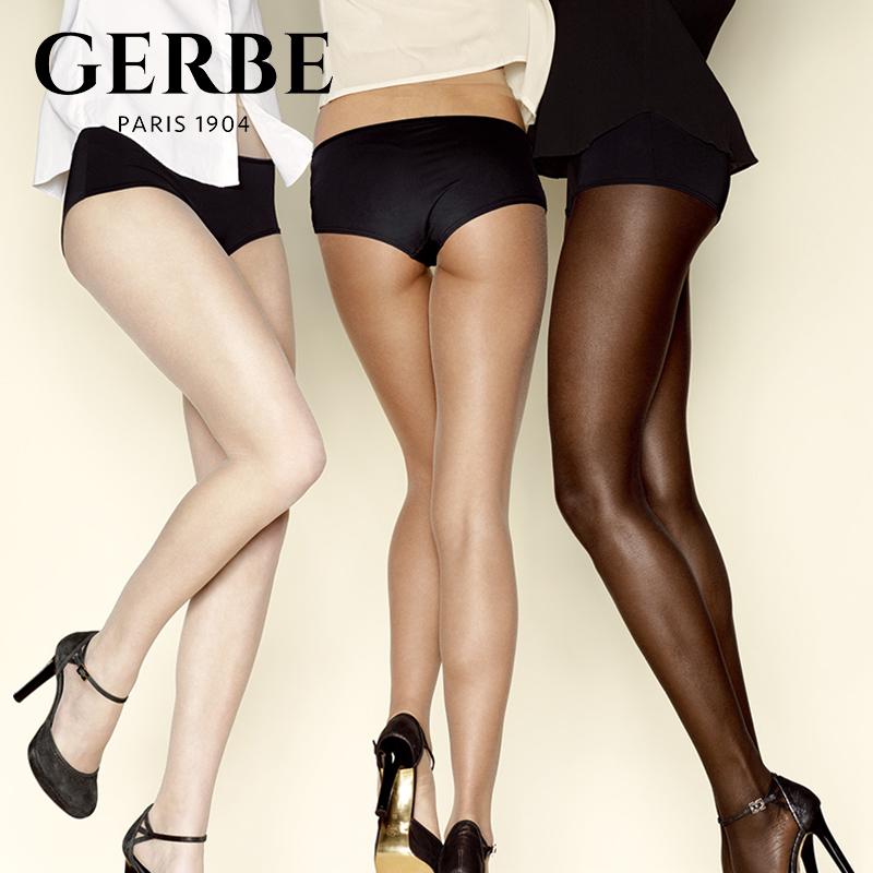 Gerbe格伯 100%法国原装进口连裤袜