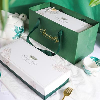 雪花酥包装盒礼盒饼干高档月饼凤梨酥牛轧糖包装袋蔓越莓曲奇盒子