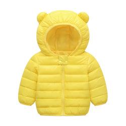女宝宝羽绒服0-1-2-3岁冬公主2020轻薄款4婴儿童装5羽绒棉衣6保暖