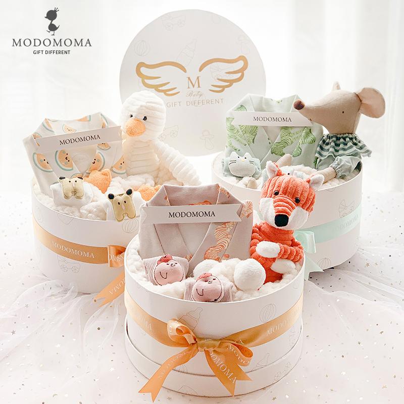 modomoma新生儿用品婴儿礼盒春哈衣怎么样
