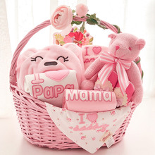 Moomoma Baby Gift Box Spring Clothes Set Love Parents 0-3 Months Neonatal Supplies Full Moon Gifts