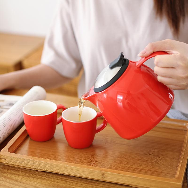 jimmeal陶瓷茶壶,非常可爱精致的家居好物