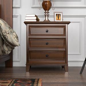 虎牌美式实木隐形保险柜63cm床头柜