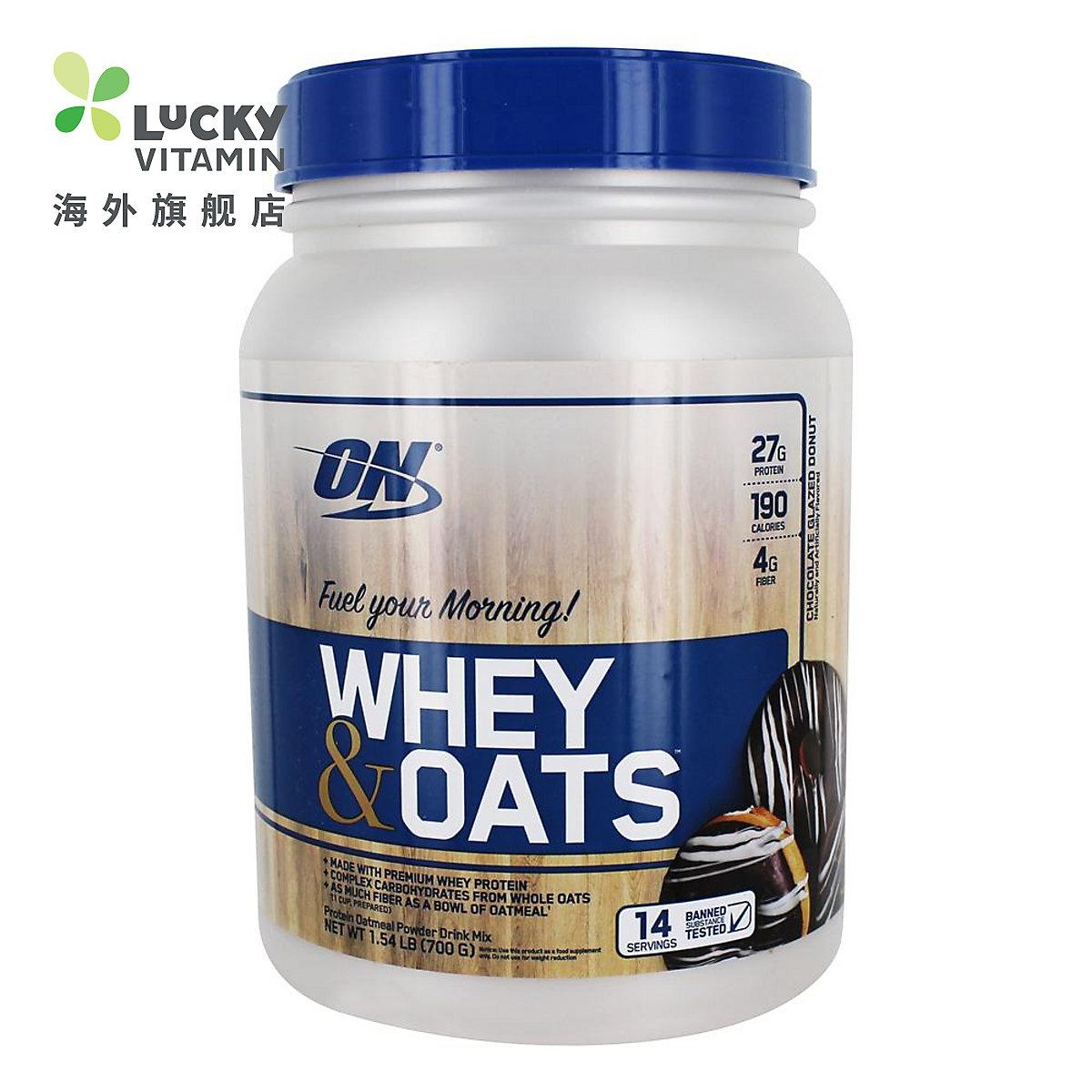 Optimum Nutrition (欧普特蒙) - 乳清和燕麦蛋白粉香草杏仁糕点