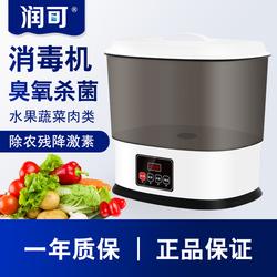 水果蔬菜清洗机家用厨房洗菜机臭活氧杀菌解毒机蜡农药食材消毒机