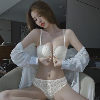 前扣式内衣女小胸聚拢平胸专用显大收副乳性感美背文胸罩夏季薄款