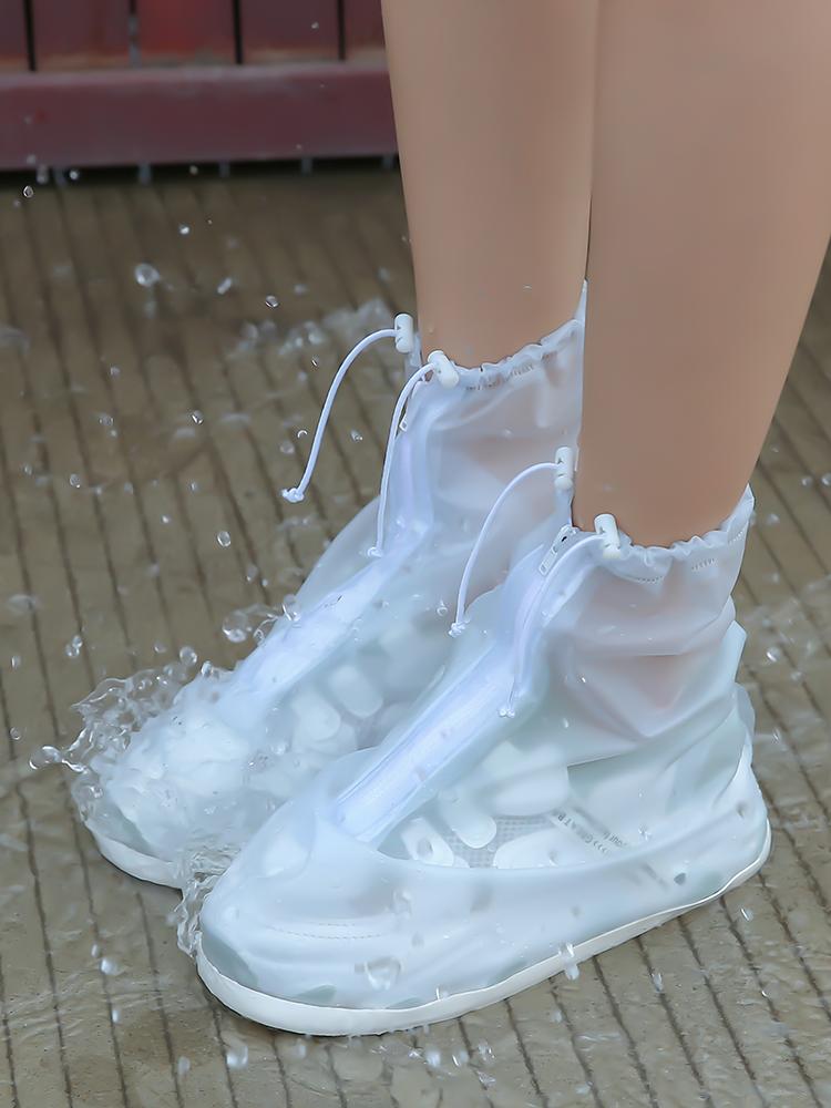 中國代購|中國批發-ibuy99|雨鞋|水鞋女雨靴时尚网红玩水踩水鞋新款2021鞋套成人儿童防滑轻便雨鞋