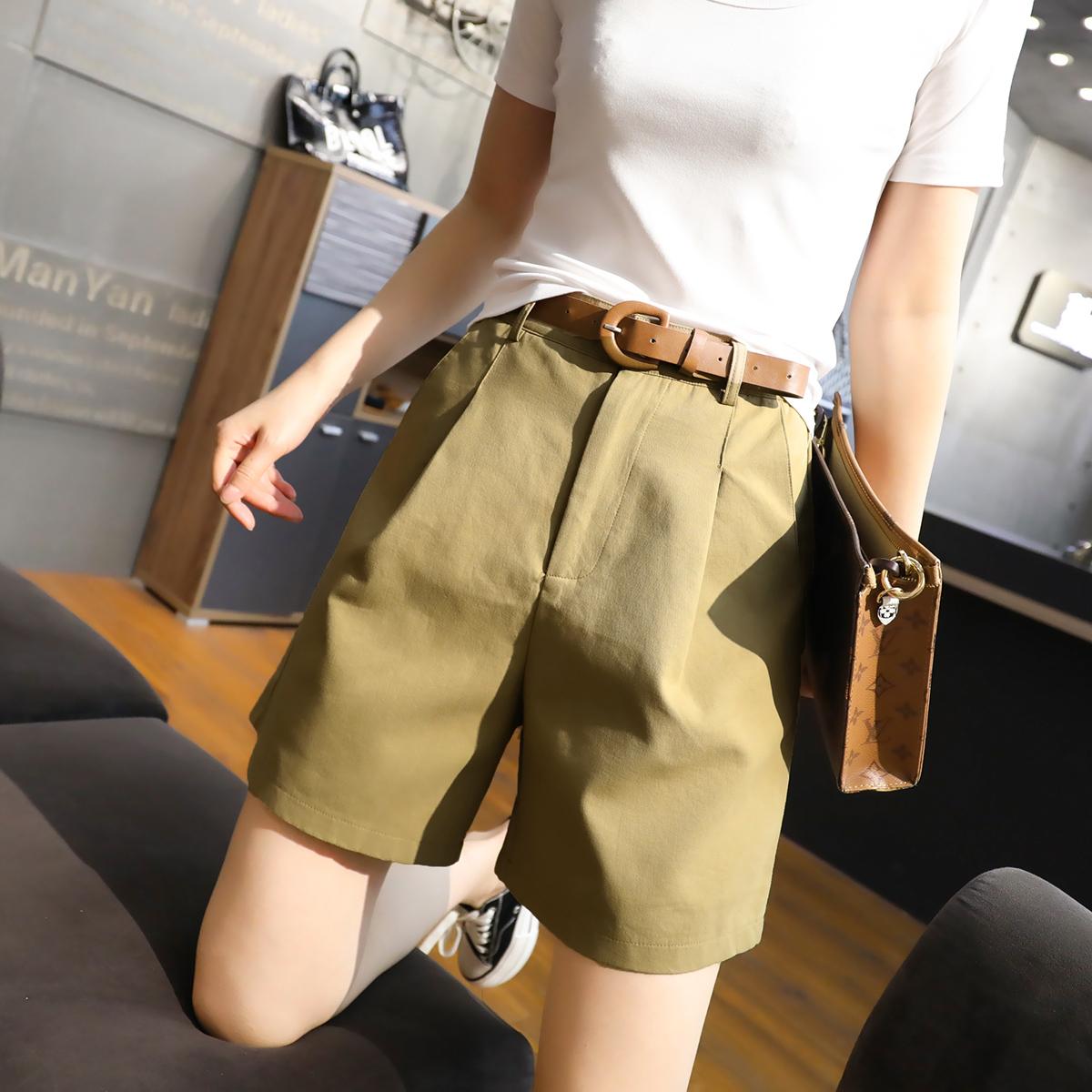 短裤女夏季宽松2020新款女装韩版...