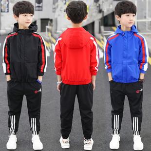 儿童装男童秋装套装2019新款中大童帅气男孩春秋季洋气两件套韩版