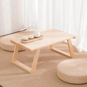 日式窗台飘窗桌子榻榻米矮桌电脑桌