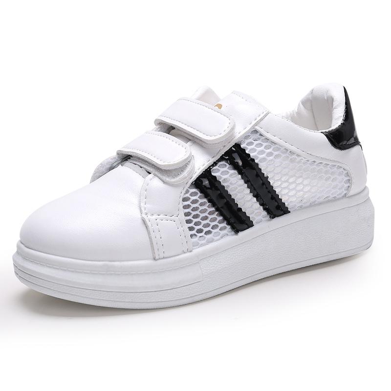 2017  鞋兒童 鞋男童女童鞋透氣小白鞋板鞋寶寶鞋潮