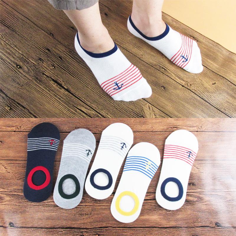 19.90元包邮袜子男士夏季薄款船袜低帮防滑袜套个性潮四季低腰袜男人半隐形袜