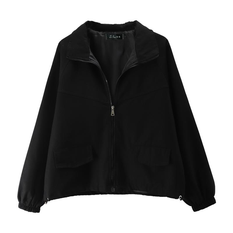 2021春季新款黑色棒球服短款潮夹克质量好不好