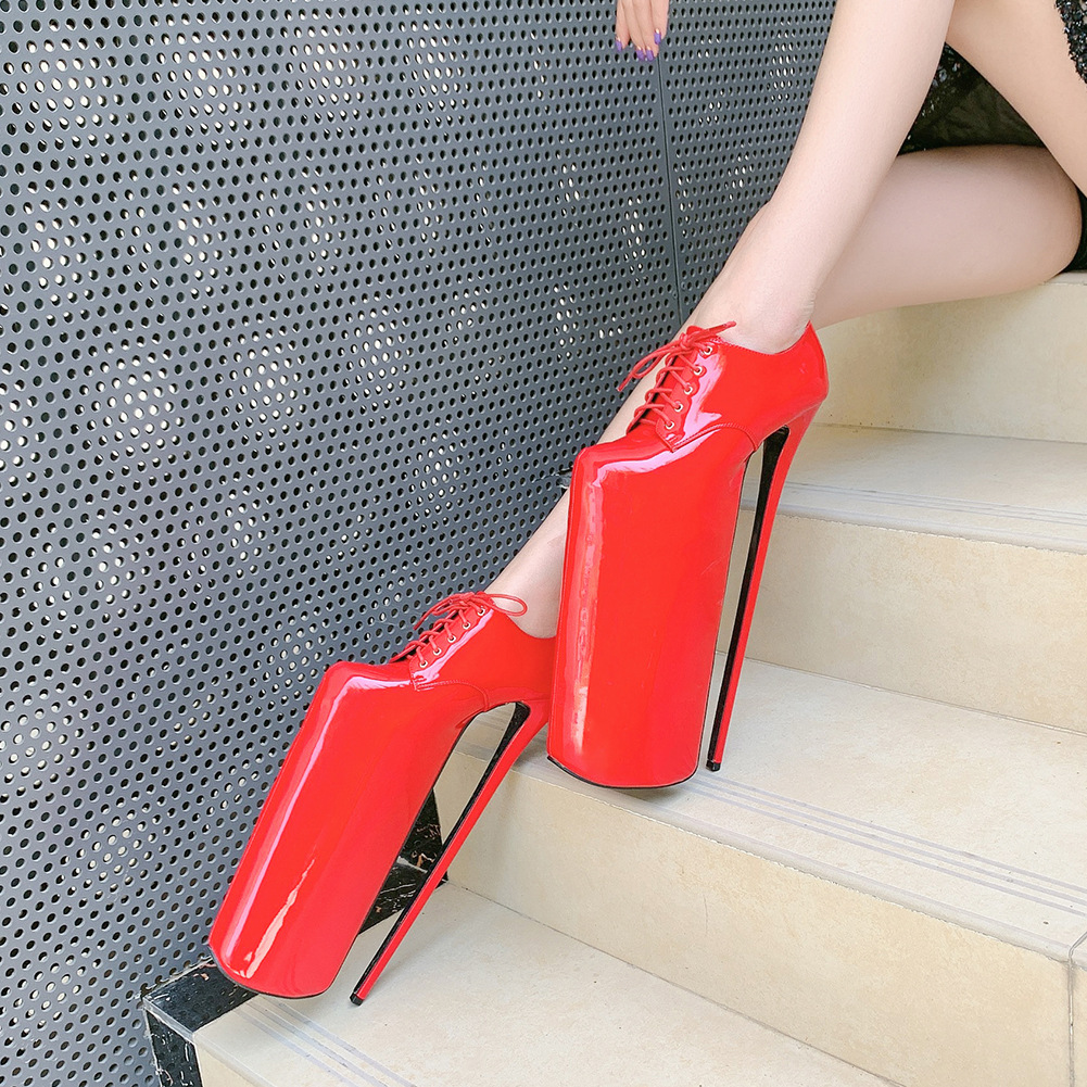 Beautiful peoples line strap 2021 womens shoes fashion trendsetter creative net red large size foreign trade waterproof platform super high heel shoes