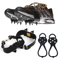 Gourd anti-skating claw shoe set snow snow claw mountaineering shoe nail 5 tooth shoe set ice anti-skid children adult shoe Chain