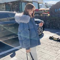 短款棉服女宽松bf2019新款冬季羽绒服潮ins超火港风小矮个子棉衣