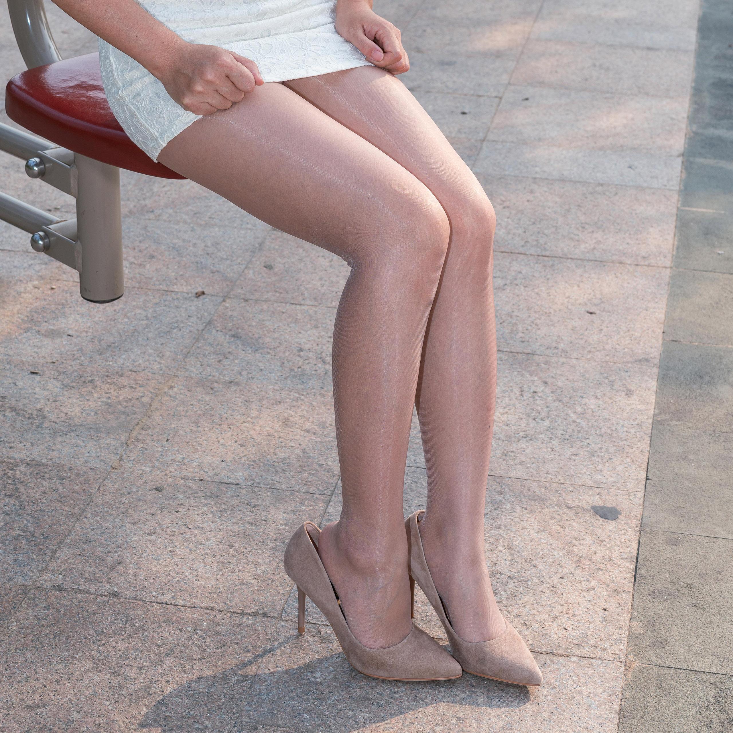 西班牙CdR Eterno 15 超级油亮丝滑性感 无腰带 防勾丝 连裤丝袜