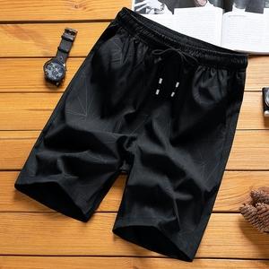 薄款五分休闲短裤男士冰丝外穿裤