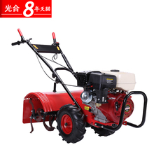 Photosynthetic four-drive self-propelled gasoline micro-tiller