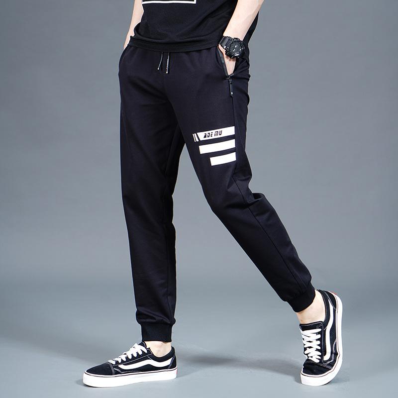 有赠品男士长裤子青少年初中高中学生男裤休闲秋冬季秋季冬天加绒运动裤