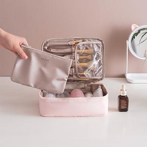 化妆包女便携旅行大容量化妆品收纳包ins风超火网红少女心化妆袋