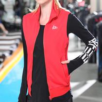 运动马甲女春秋季户外健身房跑步服训练无袖大码坎肩女背心外套冬