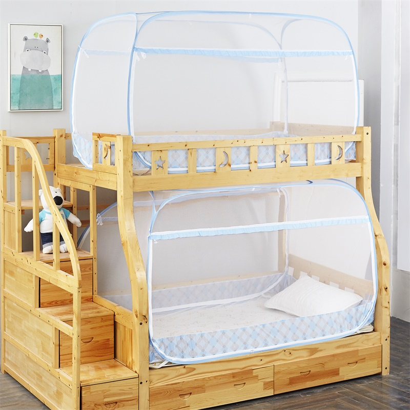 No installation of yurt mosquito net, encryption of student dormitory zipper, three door trapezoid, upper and lower beds, and textured nets