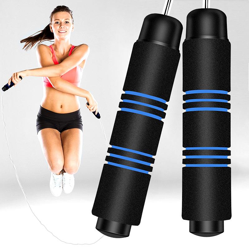 迪卡侬跳绳成人健身绳负重绳子健身器材家用计数跳神小学生中考儿