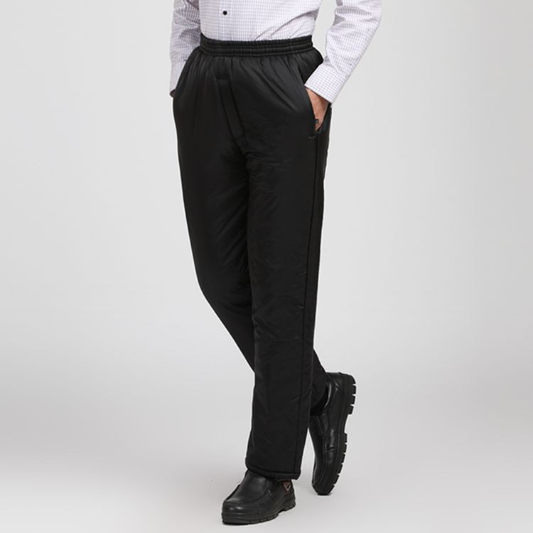 Middle aged and old people wear cotton pants mens wear thickened fathers cotton warm pants