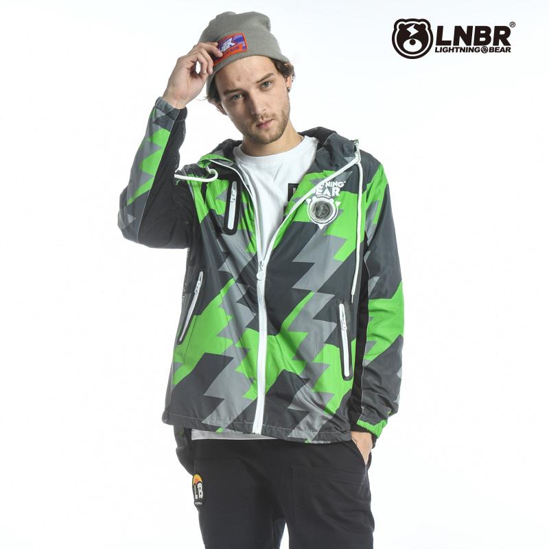 LNBR functional windbreaker plus oversized Japan tide original brand breathable running jacket spring and Autumn