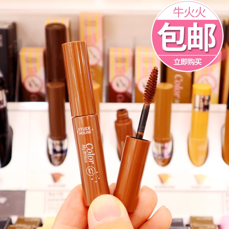 韩国爱丽小屋/伊蒂之屋染眉膏 打底膏液体眉笔防水防汗持久不脱色图片