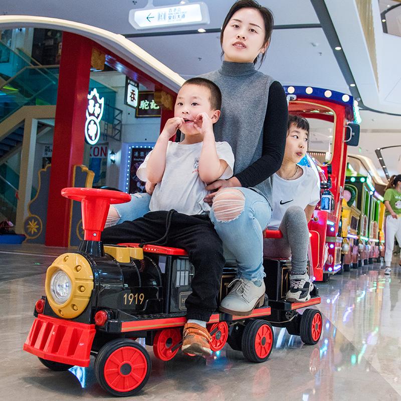小火车儿童四轮小孩玩具婴儿电动车好不好