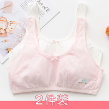 Fangpai girl vest developmental bra 10 little girls 12 girls 13 children 15 years old junior high school underwear