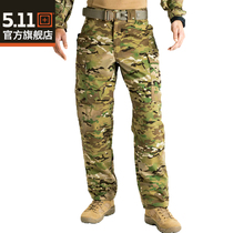 5.11 Outdoor Camouflage Pants 511 Special Forces mens army pants wear-resistant loose overalls camouflage pants 74350