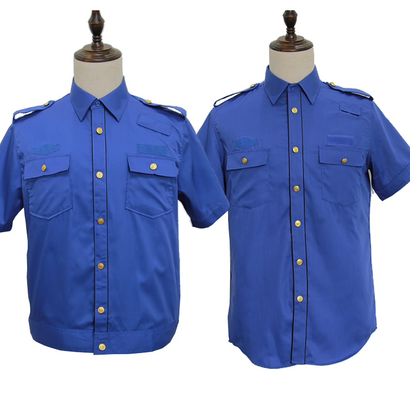 New summer mens and womens security clothing new shirt work clothes jacket short sleeve shirt summer pants security management clothing