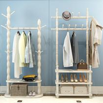 挂衣架落地式卧室衣帽架家用多功能简易衣架子简约现代房间置物架