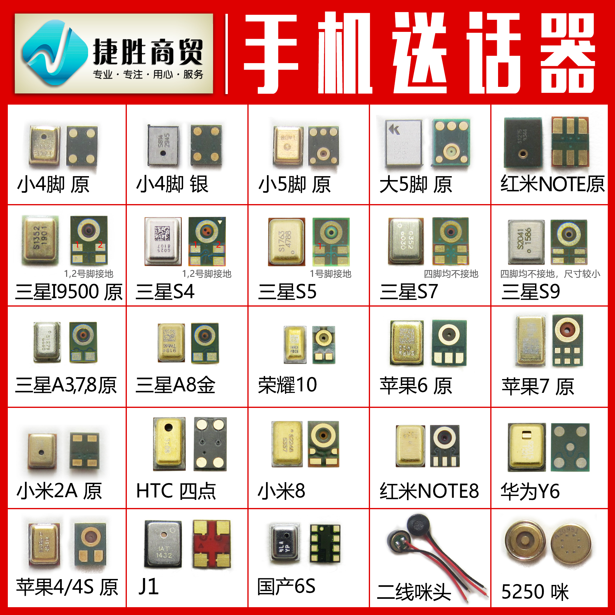 Mobile phone transmitter accessories are applicable to the microphone collection of Huawei Xiaomi oppovivo universal smart phone transmitter