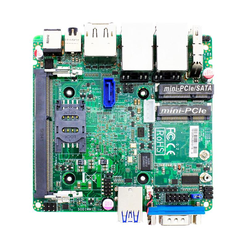 天迪工控物联网工业主板IMB-1205-N3160集成CPU支持WIN10、4G卡